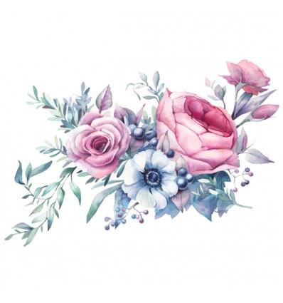 FDC Vinilo floral 1009