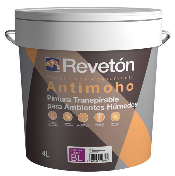 Revetón Pintura antimoho y antihumedad  4 L