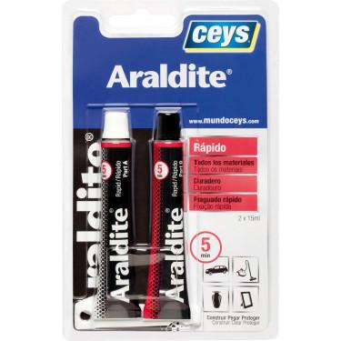 Ceys Adhesivo araldite rápido 2x15ml