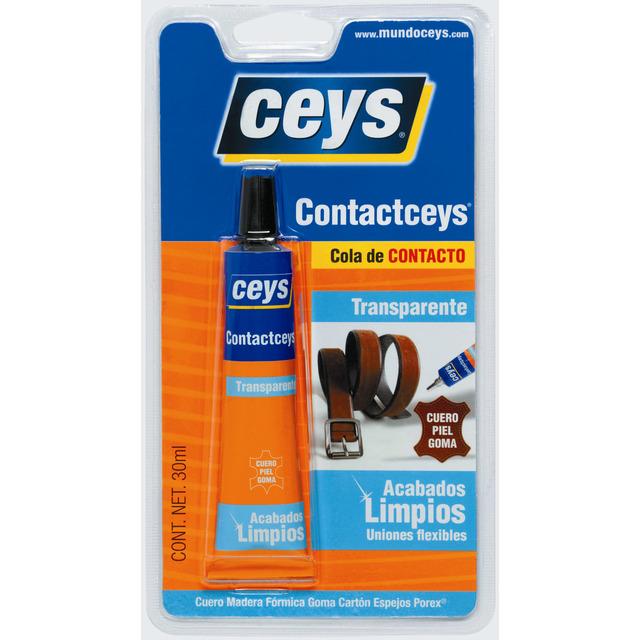 Ceys Cola de contacto acabados limpios 30ml