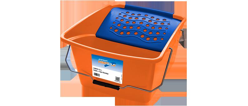 Rodapin Cubeta plástico Premium 16 L