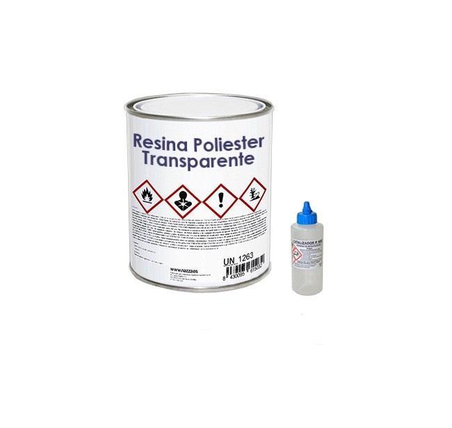 Resina de poliester + catalizador 700 gr