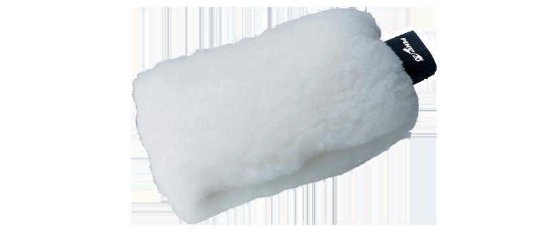 Manopla de lana acrílica