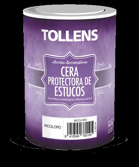 Tollens Cera protectora de estucos 600 gr