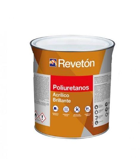 Revetón Poliuretano brillo 2 componentes (A+B) 750ml colores desde RAL6000 hasta RAL9018