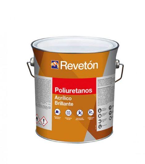 Revetón Poliuretano brillo 2 componentes (A+B) 4 Litros colores desde RAL1000  hasta RAL5024