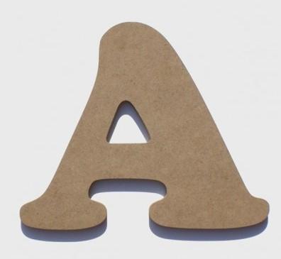 Letras de madera de 10 y 20cm