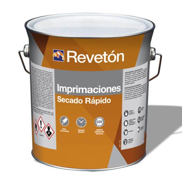 Revetón Imprimación hierro y acero  gris 21 kg