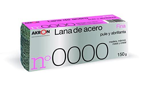 Akron Lana de acero Nº 0000