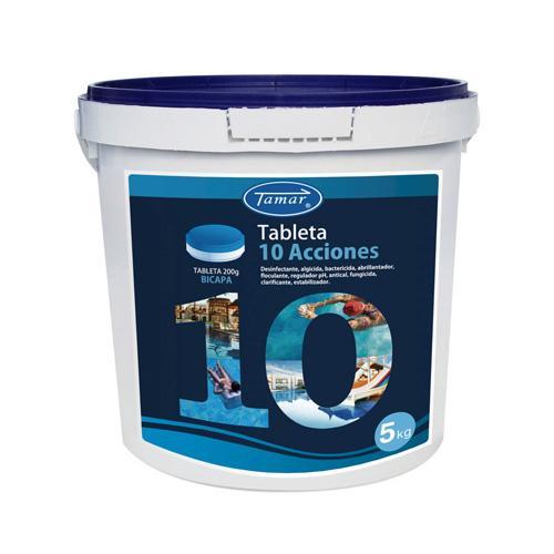 Tamar Cloro 10 acciones 5kg