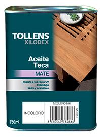 Tollens Aceite de teca 4 litros