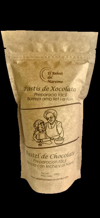 """El Rebost del Maresme Pastel de Chocolate """" Mezcla con leche y al horno"""""""""""