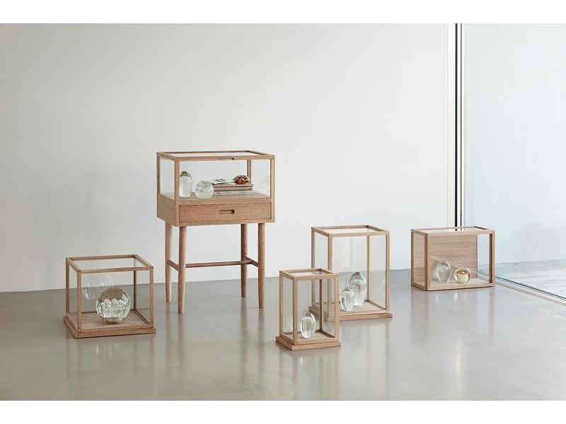 Urnas cristal-madera