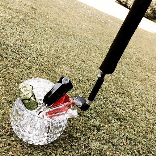 Cubitera Golf Ball transparente