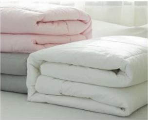 Edredón/Relleno nórdico de fibra, antialérgico, 100%  de algodón