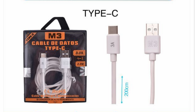 CABLE DE DATOS TYPE-C