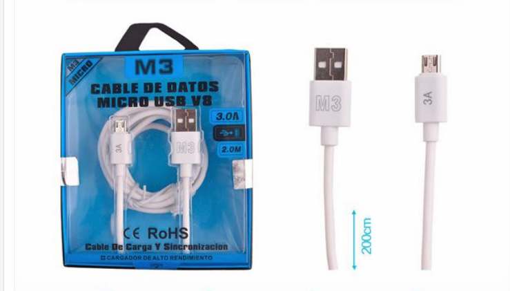 CABLE DE DATOS MICRO USB