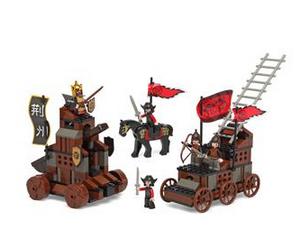 atosa SLUBAN Bloques de Construccion Los 3 Reinos + 5 Figuras