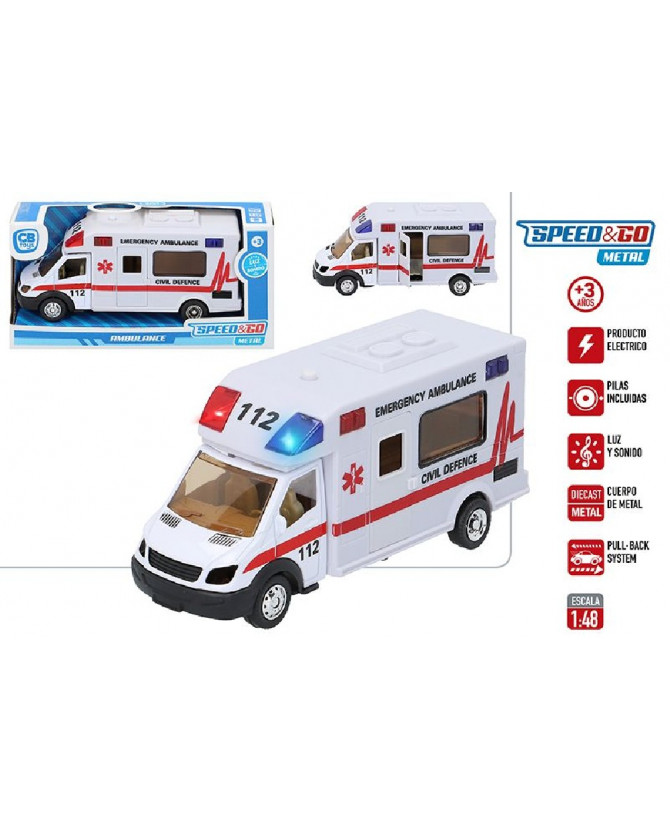AMBULANCIA METAL 1.48