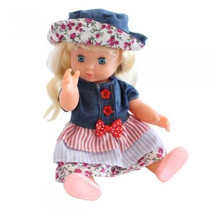 Muñeca Isabella  25 cm con accesorios + 3 años