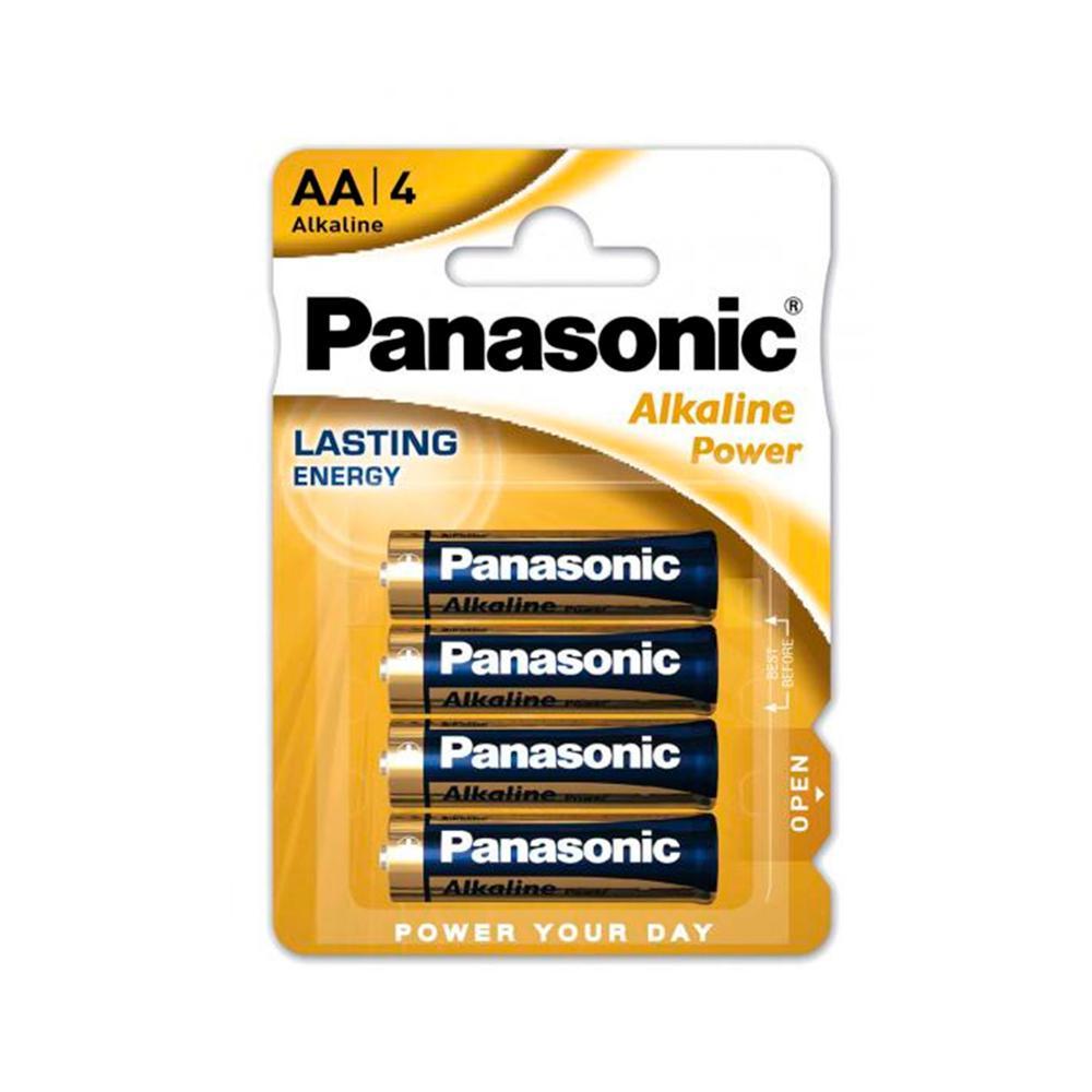 Pilas Alcalinas Panasonic AA LR06 1,5 V