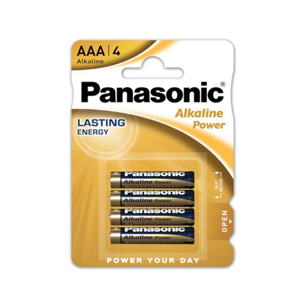 Pilas Alcalinas Panasonic AAA LR03 1,5 V