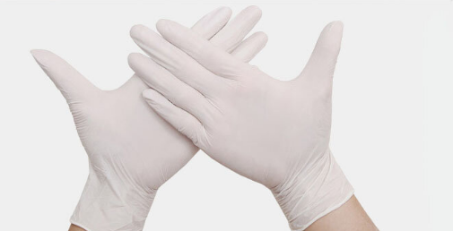 guante latex blanco 8pcs