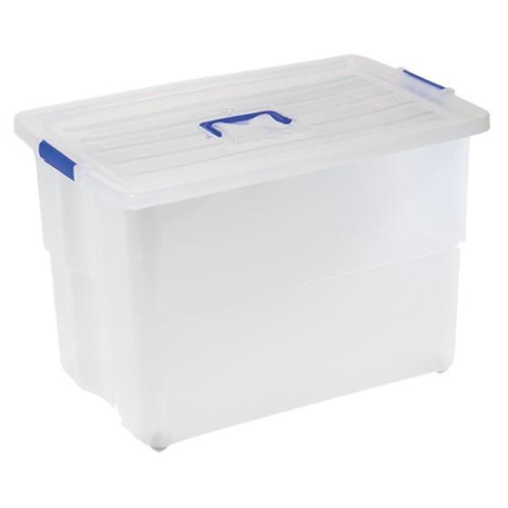 HIGH BOX C/ RUEDAS TRANSPARENTE Nº 78