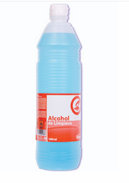 Alcohol de limpieza 1L