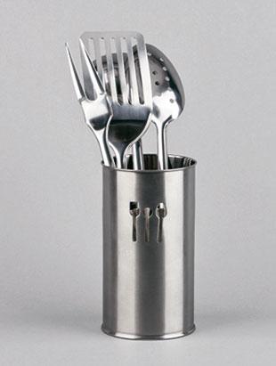 LiveStyle Porta-utensilios de cocina inox