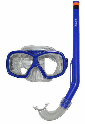 Blister Tubo + Gafa Snorkel Infantil -Aqua Sport -