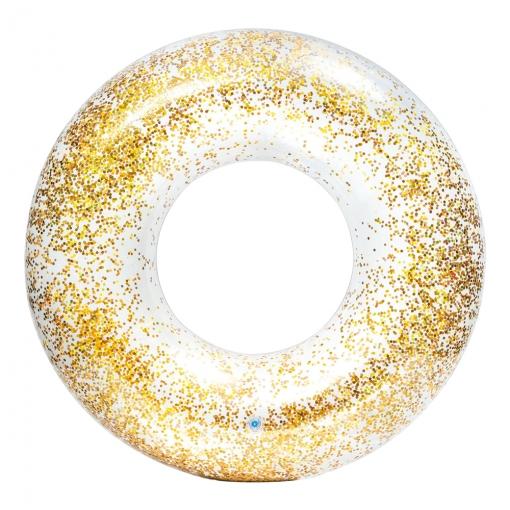 Rueda Transparente Glitter +9a - D119 Cm