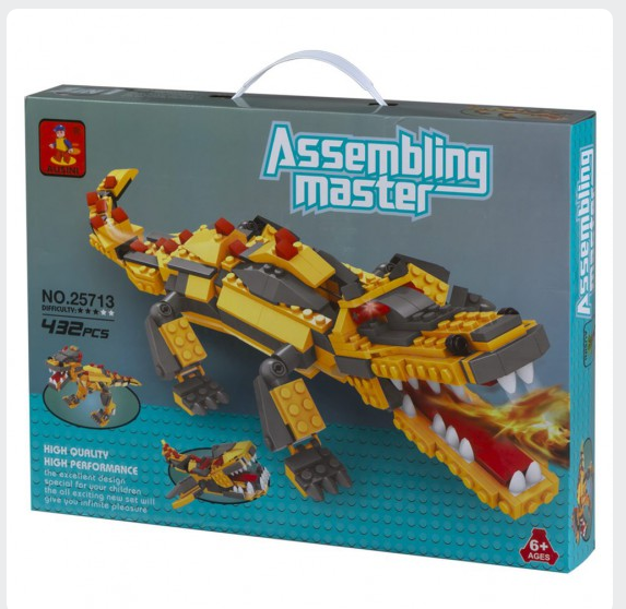 Colorbaby AUSINI Assembling Master 3 in 1 432 PCS