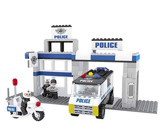 Colorbaby AUSINI Police 285 PCS +4 Figuras