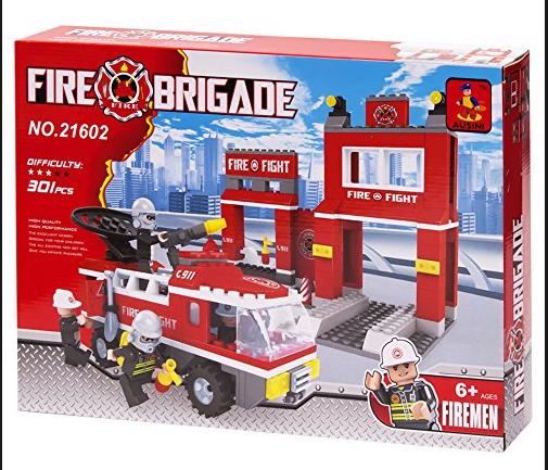 Colorbaby AUSINI Brigada de Fuego 301 PCS