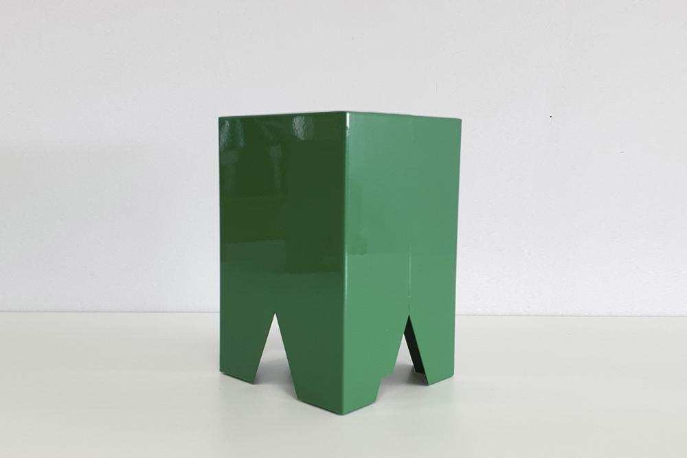 MACETA VOLOS VERDE ( 24x16x14 )