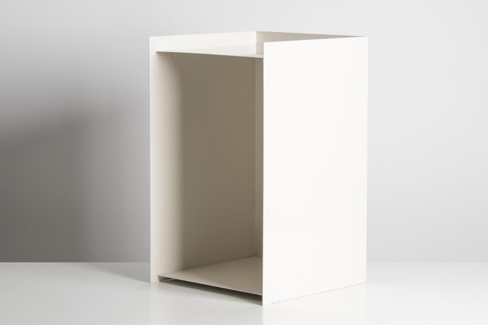 MESA COIMBRA BLANCA ( 55x34x34 )