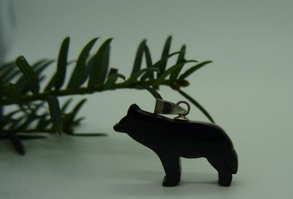 Unión Azabachera de Villaviciosa Colgante loba