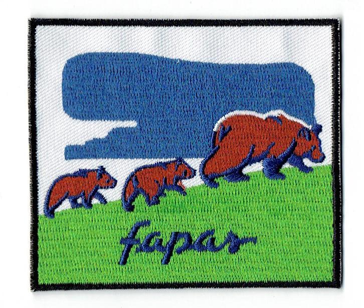 Fapas Emblema oso pardo