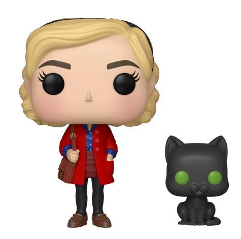 Sabrina con Salem