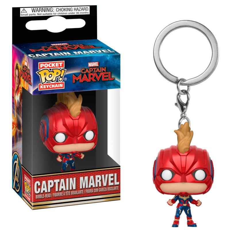 Llavero Capitana Marvel Casco