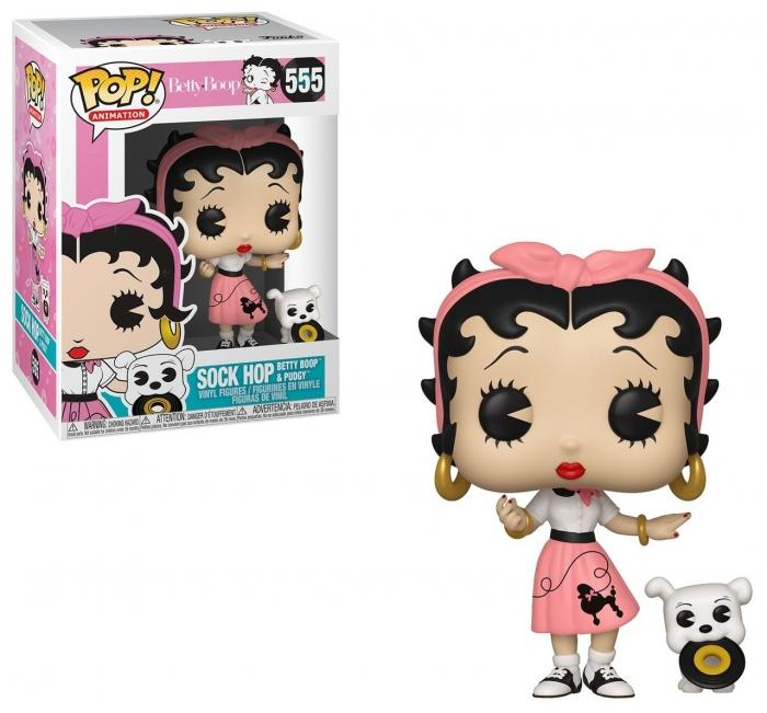 Betty Boop con Pudgy