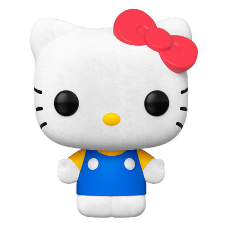 Hello Kitty Flocked