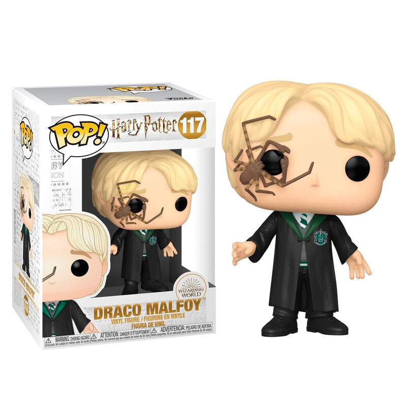 Draco Malfoy with Whip Spider