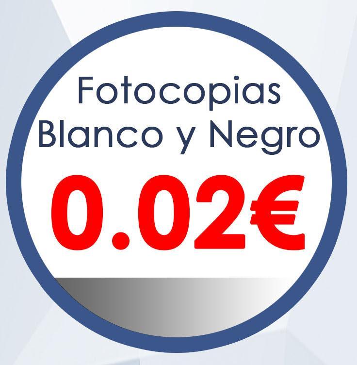 Fotocopia Blanco y Negro