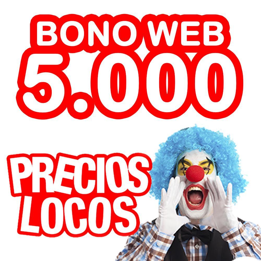 BONO WEB 5.000 0.019€/copia