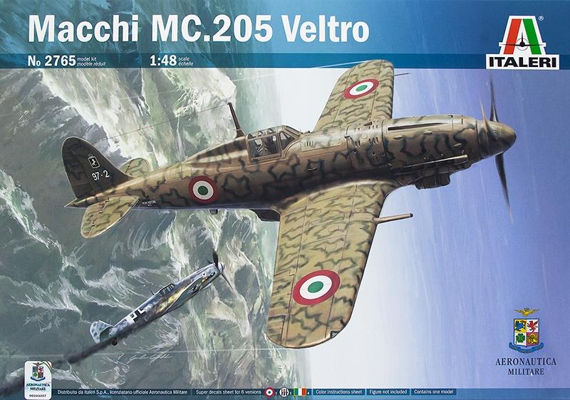 ITALERI 2765 Macchi MC.205 'Veltro' (WWII)