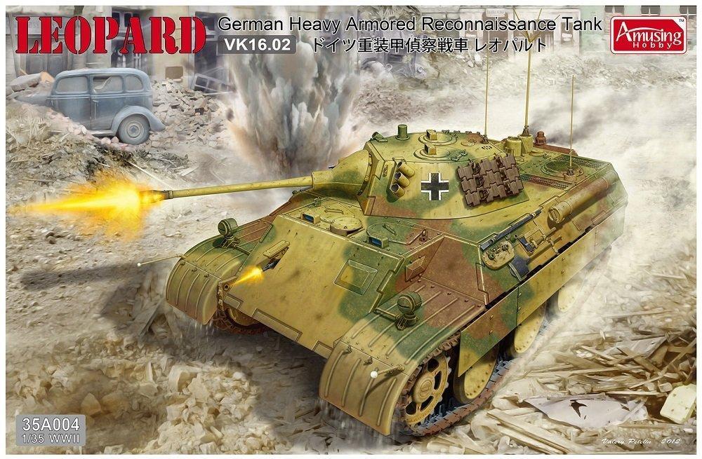 AMUSING HOBBY 35A004 German VK16.25 Heav Armored Reconnaissance Tank 'Leopard'