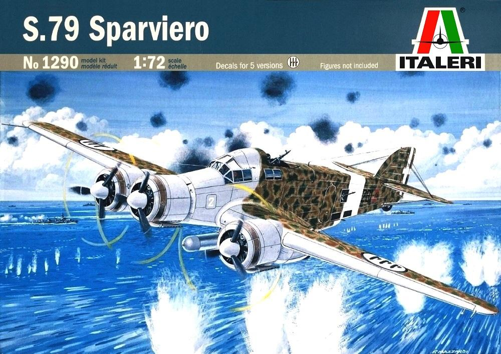 ITALERI 1290 Savoia-Marchetti S.79 'Sparviero'