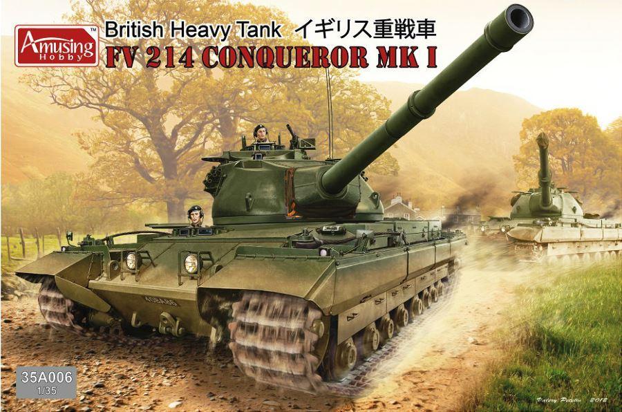 AMUSING HOBBY 35A006 British Heavy Tank FV 214 Conqueror Mk.I